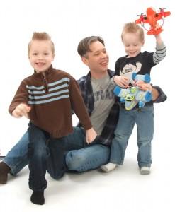 Michael Friedrichs with boys